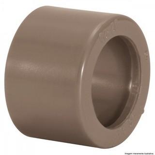 Bucha de Redução Curta Água Fria Soldável 40x32mm Marrom Amanco
