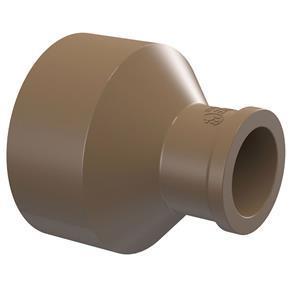 Bucha de Redução Longa Água Fria Soldável 60x32mm Marrom Amanco Wavin