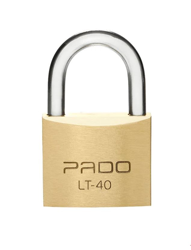 Cadeado SM Latão 40mm Pado