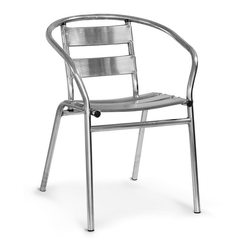 Cadeira de Alumínio DIC117-12 Decor