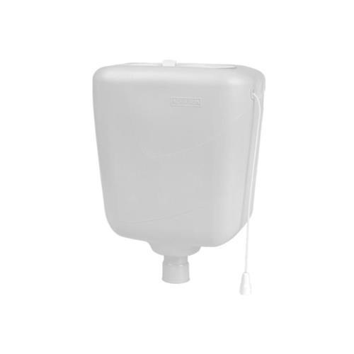 Caixa Descarga sem Tubo 6 Litros Branco Astra