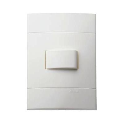 Conjunto Interruptor Simples 10A Decor 044011 4x2 Branco Schneider