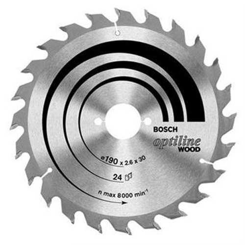 Disco de Serra Optiline 40 Dentes 852 Prata Bosch