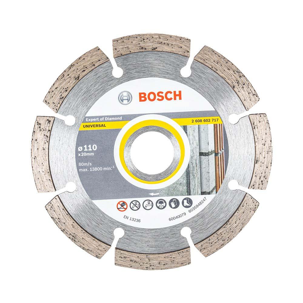 Disco Diamantado Up Segmentado 110x20mm Bosch