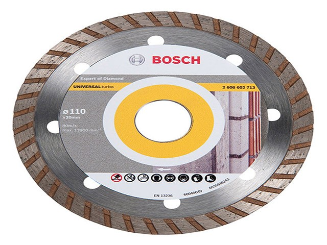 Disco Diamantado Up Turbo 110x20mm Bosch