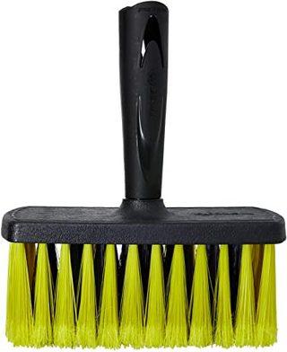 Escova Plástica Retangular 1199-2 61199002 Preto Tigre