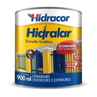 Esmalte Sintético Hidra+ 0,9 Litros Amarelo Hidracor