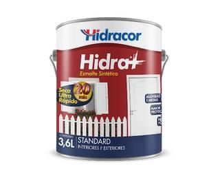 Esmalte Sintético Hidra+ 0,9 Litros Branco Hidracor