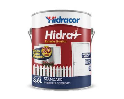 Esmalte Sintético Hidra+ 3,6 Litros Vermelho Hidracor