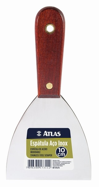 Espátula de Aço Inox N1 6155/10 6,3cm Atlas