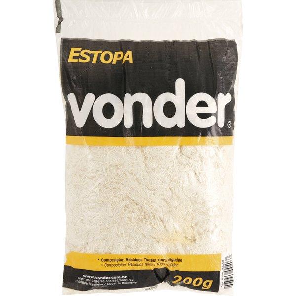 Estopa para Polimento 200g Branco Vonder