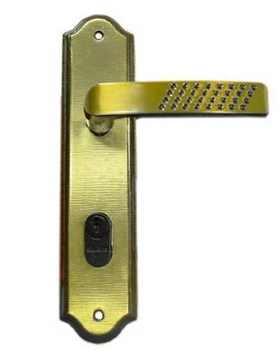 Fechadura 1100 Externa Espelho 1101/12PO 95417 Oxidado Silvana