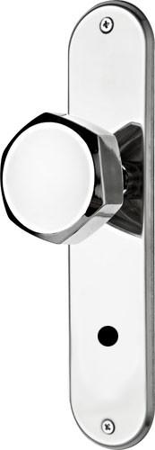 Fechadura 1200 Banheiro Espelho 1201/02SC 96131 Cromado Silvana