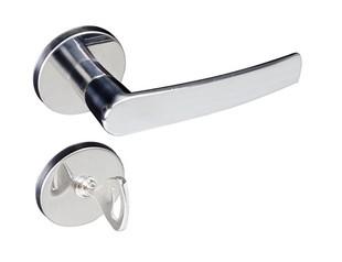 Fechadura Zamac Concept Banheiro 401B Roseta Cromado Pado