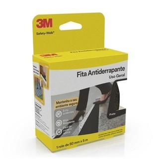 Fita Antiderrapante Safety Walk 12452 50X5m Preto 3M