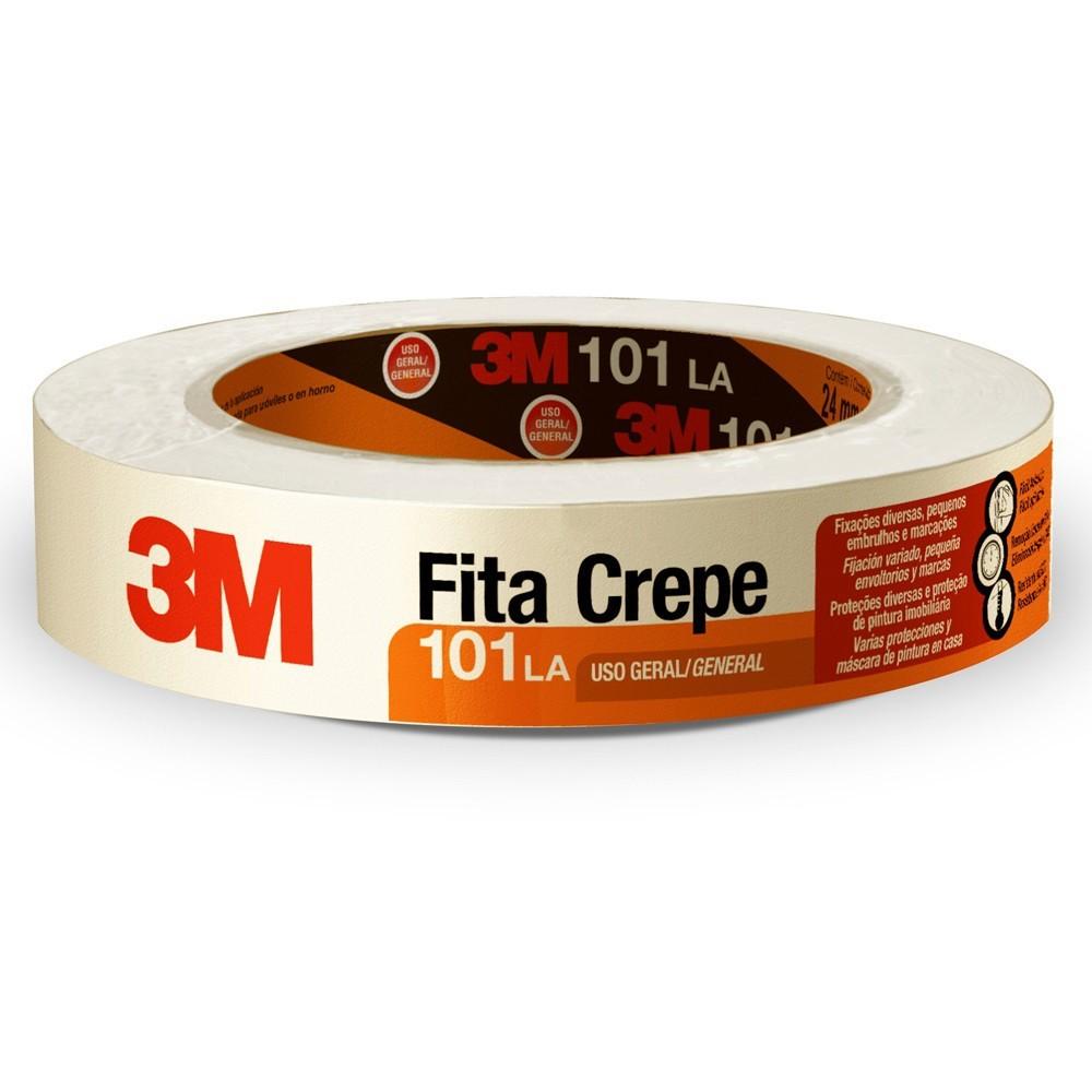 Fita Crepe 101LA 24mmx50m 3M