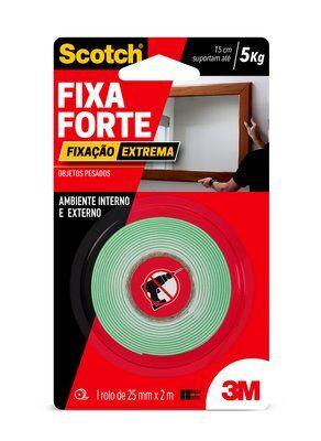 Fita Fixa Forte Extreme 24mmx2m 3M