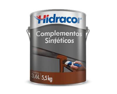 Fundo para Ferro Hfer 3,6 Litros Cinza Hidracor