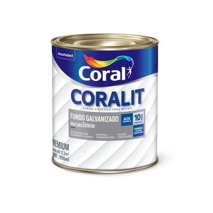 Fundo para Galvanizado Branco 0,9 Litros Coral