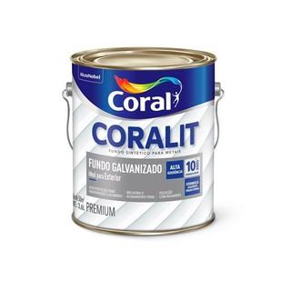 Fundo para Galvanizado Branco 3,6 Litros Coral