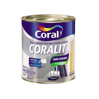Fundo Preparador Coralit Zero 0,9 Litros Coral