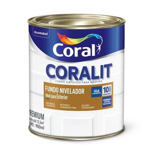 Fundo Sintético Nivelador Branco 3,6 Litros Coral