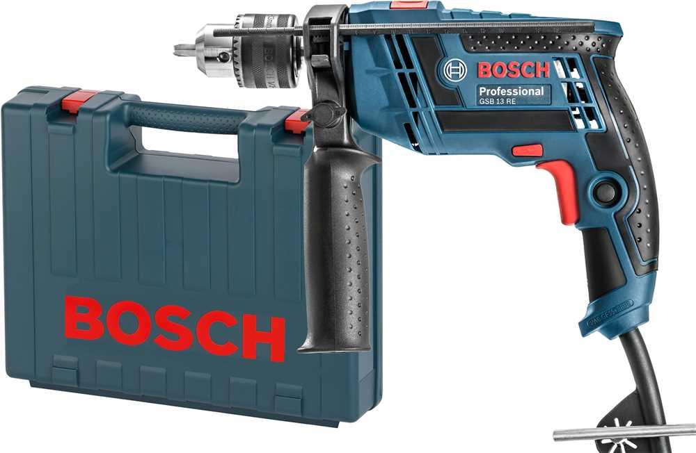 Furadeira Impacto com Maleta GSB 13RE 220V Bosch