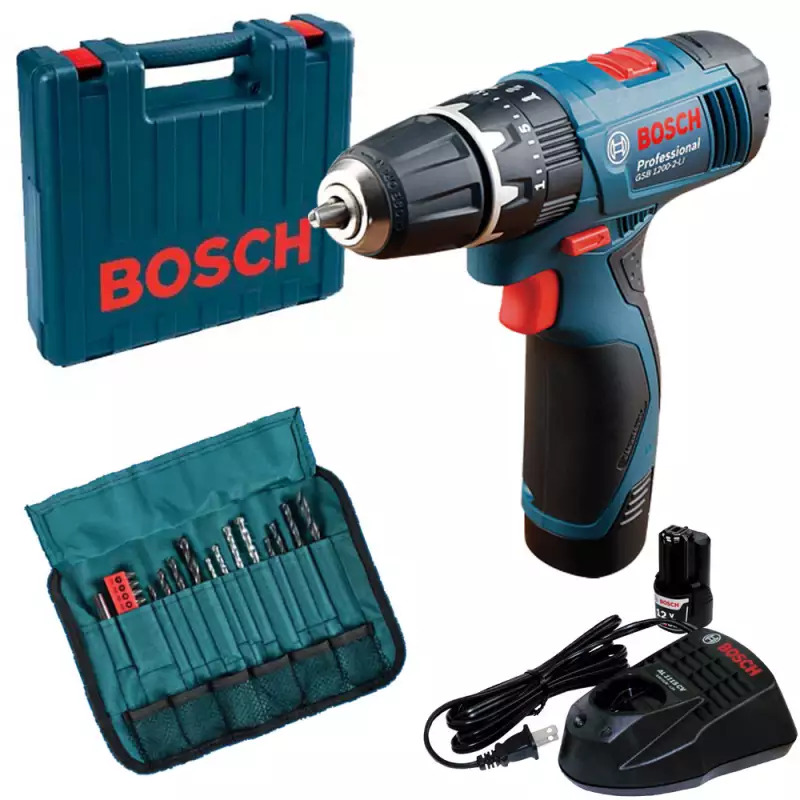 Furadeira Impacto/Parafusadeira GSB 1200 Azul 220V Bosch