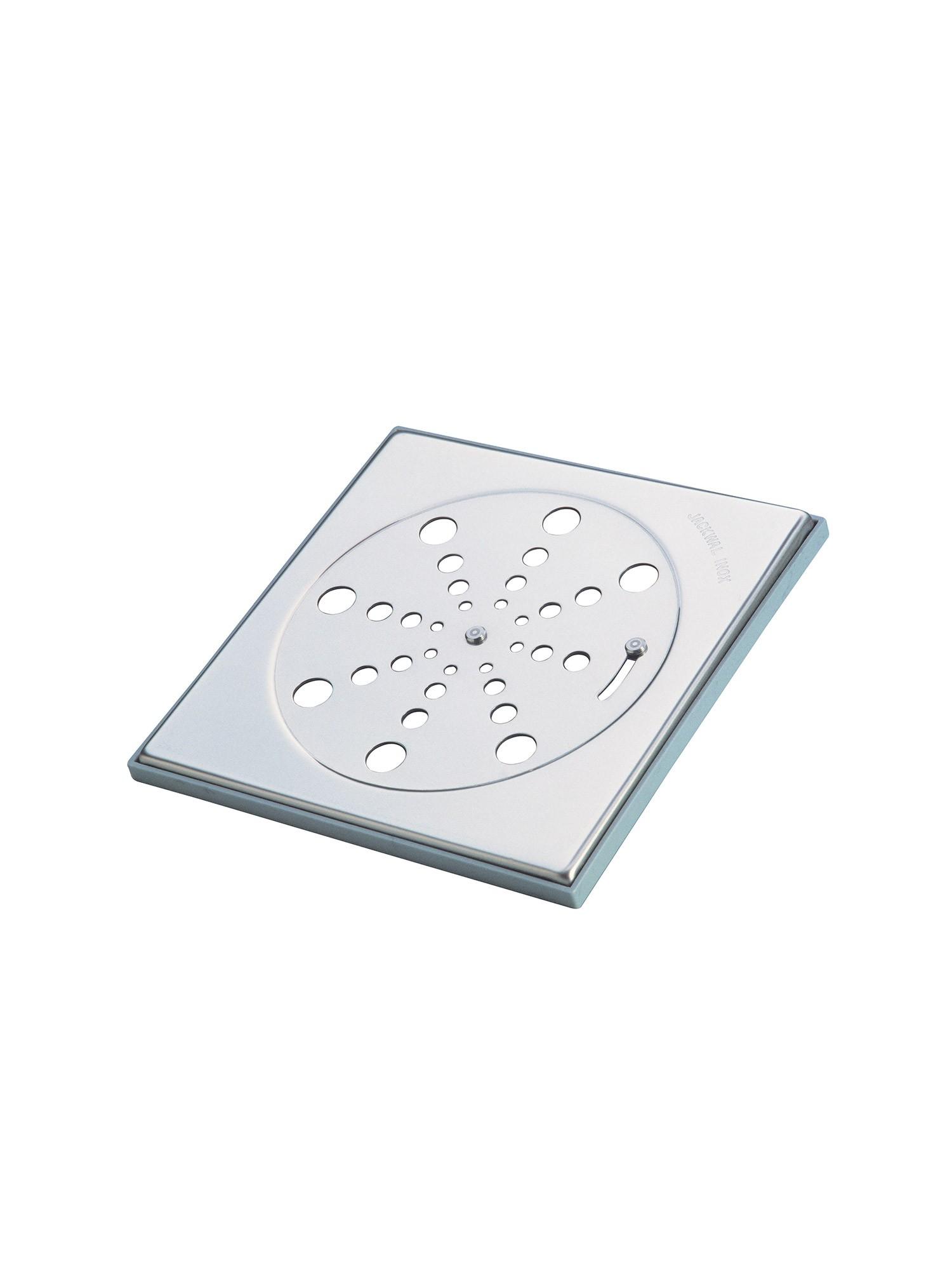 Grelha Quadrada com Fecho com Moldura Inox 2924 10cm Jackwal