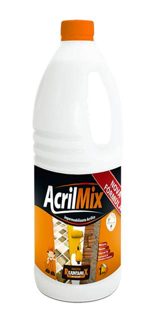 Impermeabilizante Acrílico Acrilmix Garrafa 1kg Rejuntamix