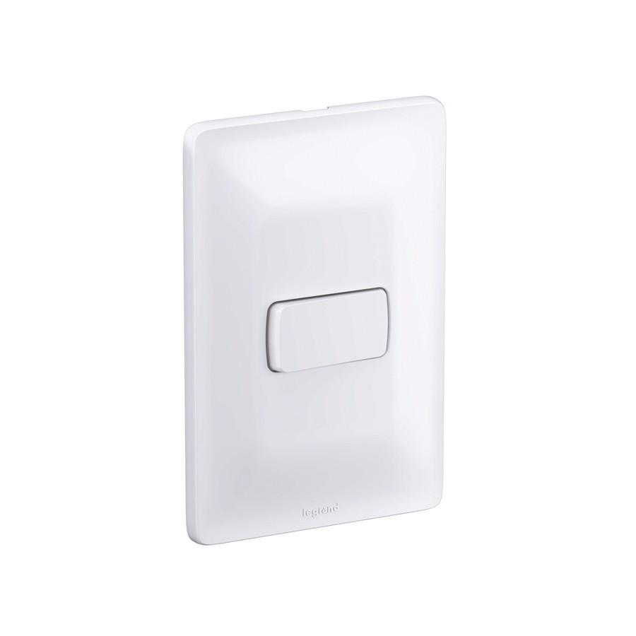 Interruptor 1 Simples 10A 4X2 680100 Zeffia Pial
