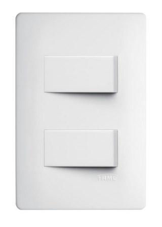 Interruptor 2 Simples 10A Habitat 6120944 Fame