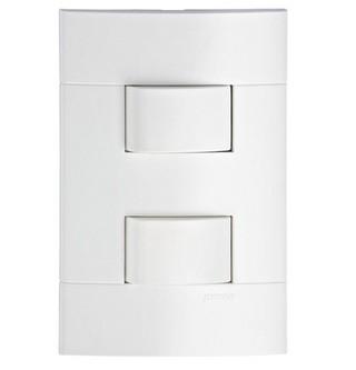 Interruptor 2 Simples Lunare 43141 4x2 Branco Schneider