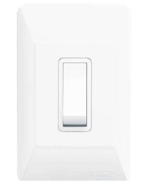 Interruptor Simples 07109404 Branco Fame