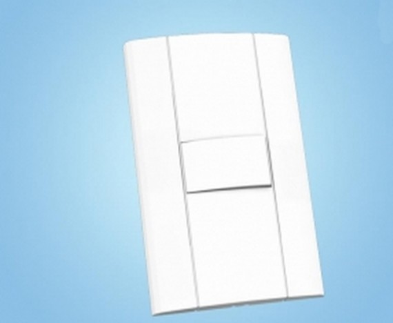 Interruptor Simples 10A Mares 2512 4x2 Romazi