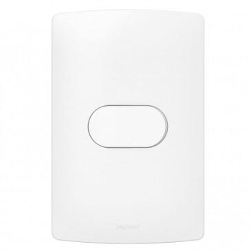 Interruptor Simples 4x2 Nereya 663100 Branco Pial