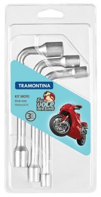 Jogo Chave Biela para Moto 3 Peças 42808/103 Tramontina