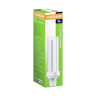 Lâmpada Dulux D/E 18W/827 10x1 Osram