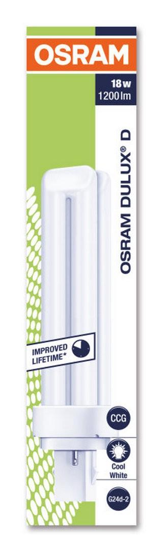 Lâmpada Dulux D/E 18W/840 10x1 Osram
