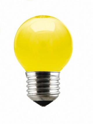 Lâmpada Incandescente Bolinha 15W 10257 220V  Amarelo Taschibra
