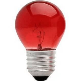 Lâmpada Incandescente Bolinha 15W 10258 220V Vermelho Taschibra
