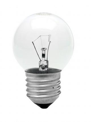 Lâmpada Incandescente Bolinha 40W 11707 220V Clara Taschibra