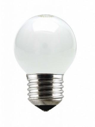 Lâmpada Incandescente Bolinha 40W 11709 220V Leitosa Taschibra