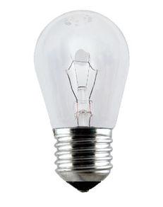 Lâmpada Incandescente para Fogão e Geladeira Pêra Clara E27 40W 11724 Taschibra