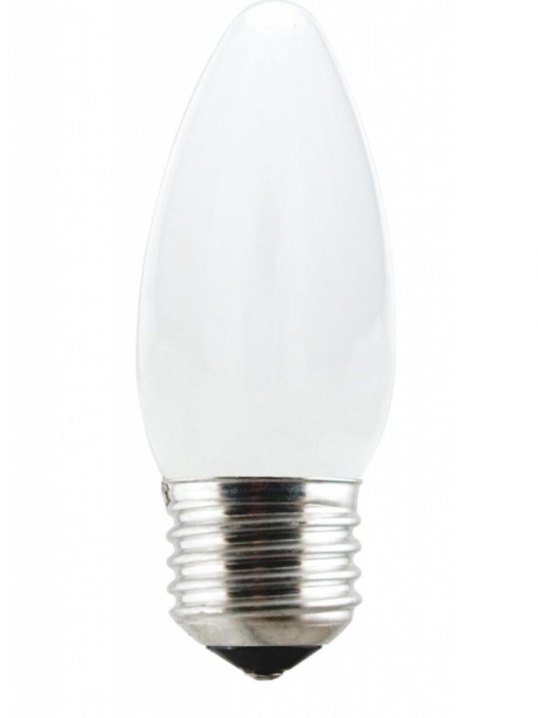 Lâmpada Incandescente Vela 40W 10129 220V Lisa Leitosa Taschibra