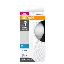 Lâmpada Led CLA40 6W/600L E27 G2 6500K Bivolt Osram