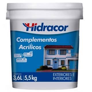 Líquido para Brilho Complementos Acrílicos 3,6 Litros Hidracor