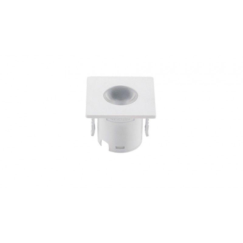 Luminária de Embutir Mini para Móveis 1,2W 80LM 3000K Branco Stella
