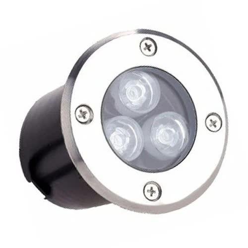 Luminária Embutida Piso Par20 Grade 525 Preto FM Lustres