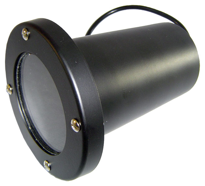Luminária Embutida Piso Par20 Sem Grade 524 Preto FM Lustres